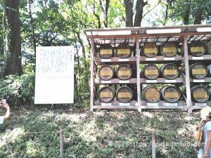 明治神宮樽