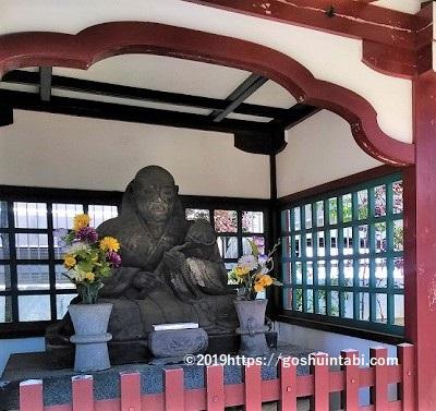 寛永寺根本中堂の了翁禅師塔碑